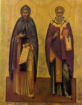 Icon of Cyril and Methodius