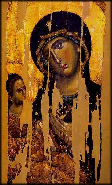 Maount Athos: Icons of Panagia Odigitria at the Monastery of ...